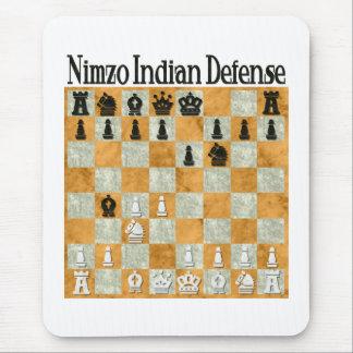 Defensa Nimzo-India Mouse Pad