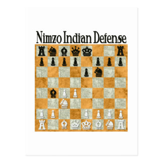 Defensa Nimzo-India Postal