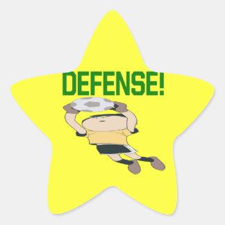 Defensa Pegatina En Forma De Estrella