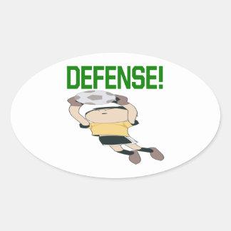 Defensa Pegatina Ovalada