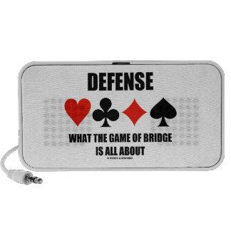 Defensa sobre qué The Game del puente está todo Portátil Altavoz