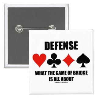 Defensa sobre qué The Game del puente está todo Pin