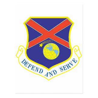 Defensa y servicio tarjetas postales