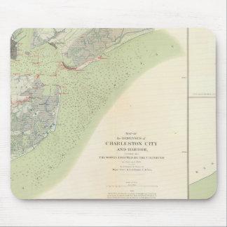 Defensas de Charleston, campo de batalla de Belmon Tapetes De Raton