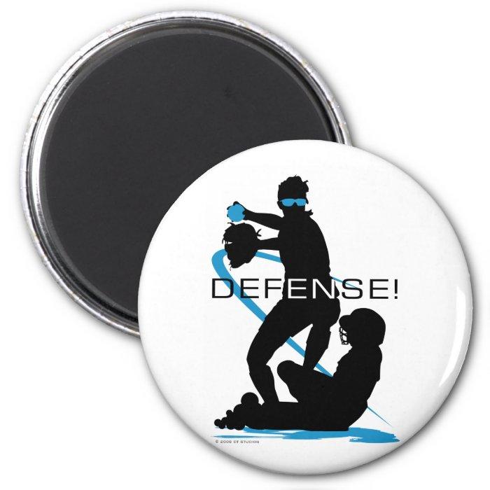 Defense2 2 Inch Round Magnet