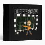 Defense 3 Ring Binder