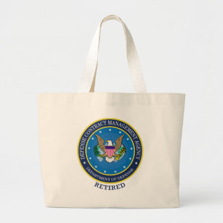 Defense Contract Management Agency Large Tote Bag