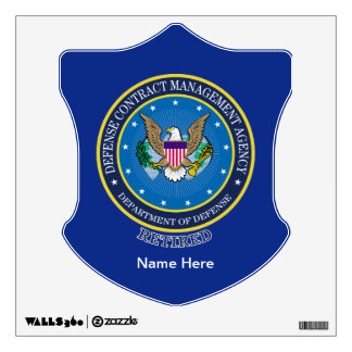 Defense Contract Management Agency Wall Sticker