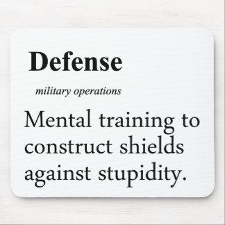 Defense Definition Mouse Pad
