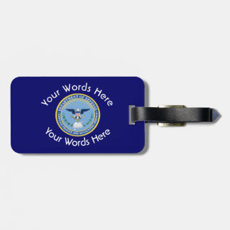 Defense Finance Accounting Services DFAS Luggage Tag