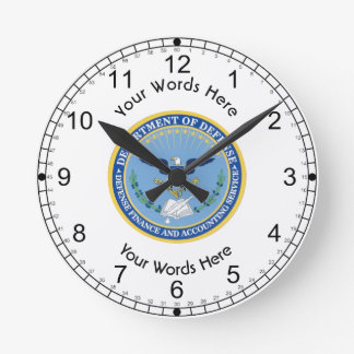 Defense Finance Accounting Services DFAS Round Clock