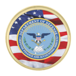 Defense Finance Accounting Services Lapel Pin
