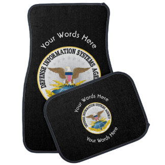 Defense Information Services Agency DISA Car Floor Mat