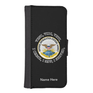 Defense Information Systems Agency (DISA) VVV Wallet Phone Case For iPhone SE/5/5s