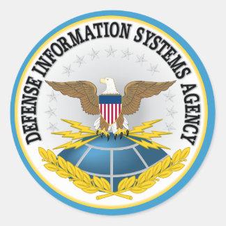 Defense Information Systems Agency Sticker