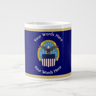 Defense Intelligence Agency DIA Shield Large Coffee Mug