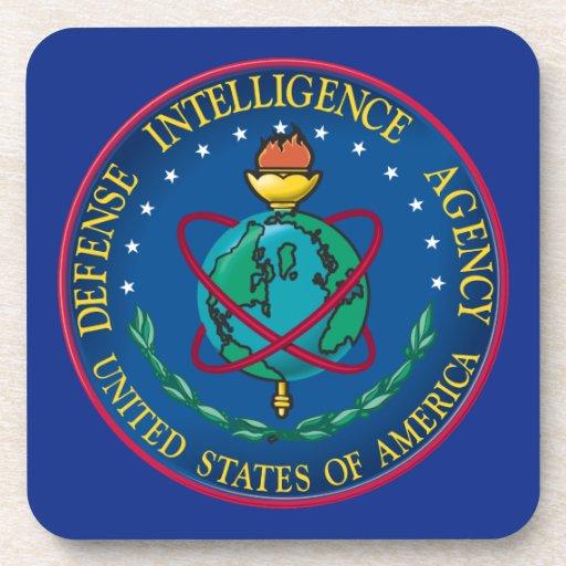 Defense Intelligence Agency Drink Coasters