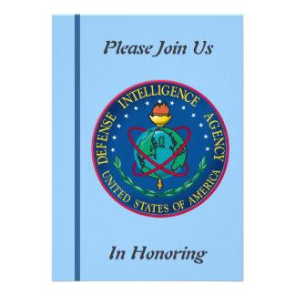 Defense Intelligence Agency Retirement Invitation