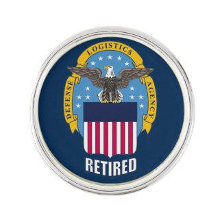 Defense Logistics Agency Retired Lapel Pin