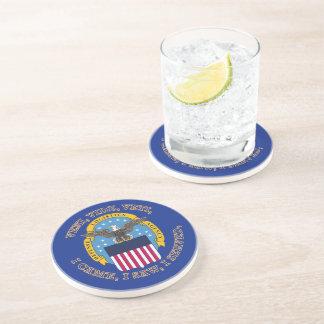 Defense Logistics Agency Shield Drink Coasters
