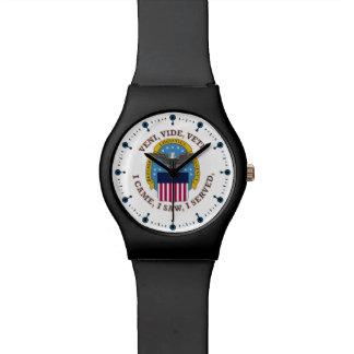 Defense Logistics Agency Shield Wristwatch