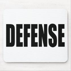 Defense Mouse Pad