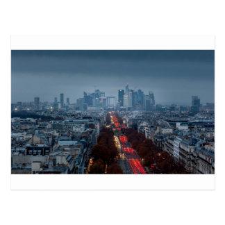 Defense, Paris Postcard