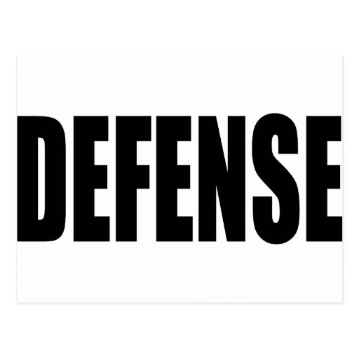 Defense Post Cards