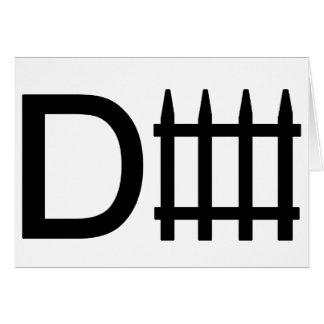 Defense symbol card