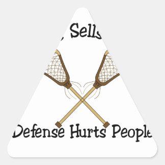 Defense Triangle Sticker