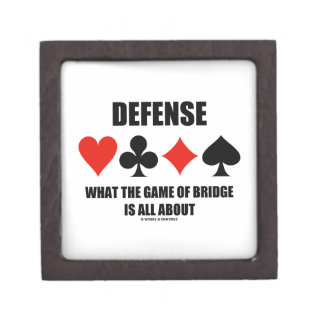 Defense What The Game Of Bridge Is All About Premium Gift Box