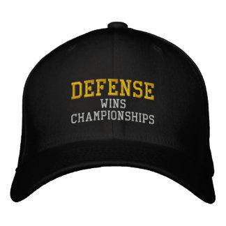 DEFENSE wins championships Embroidered Baseball Caps