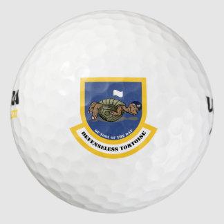 Defenseless Tortoise Golf Balls