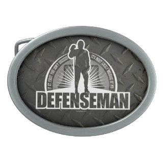 Defenseman Belt Buckle