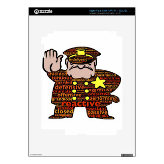 defenses-786 decals for iPad 3