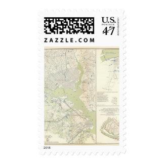 Defenses Washington Stamp