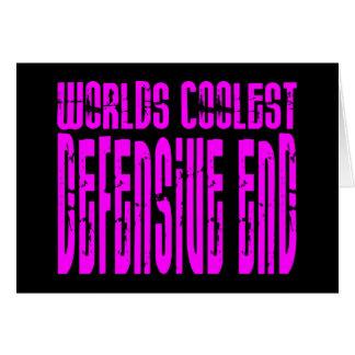 Defensive Ends Pink Worlds Coolest Defensive End Card