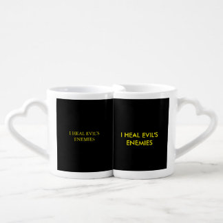 DEFENSIVE LOVE FROM THE LORD COFFEE MUG SET