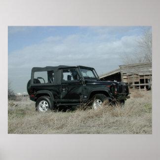 Defensor 90 de Land Rover Poster