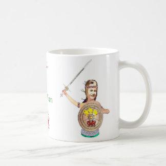 Defensor de Gwenllian de la serie del reino Taza De Café
