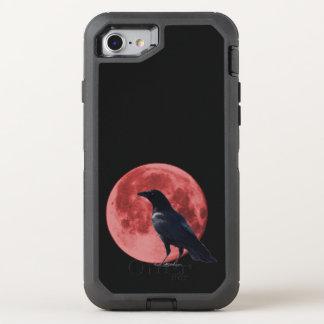 Defensor del iPhone del cuervo de la luna de la Funda OtterBox Defender Para iPhone 7