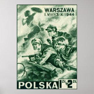 Defensores de WWII de Varsovia Impresiones
