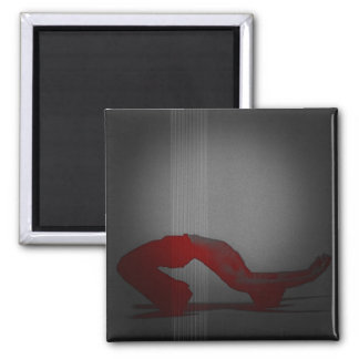 Defiance 2 Inch Square Magnet