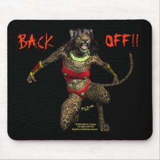 """Defiance """"Back Off!""""  Mousepad"""