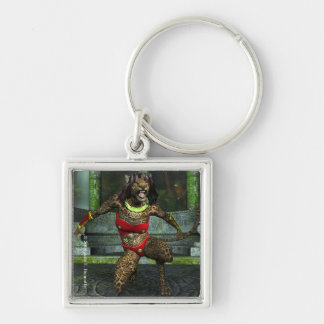Defiance Square Keychain