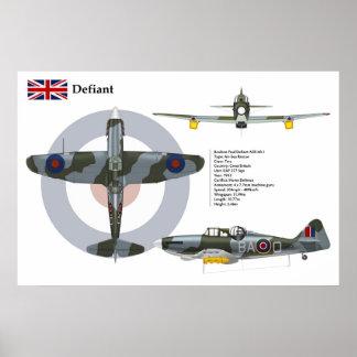 Defiant ASR Mk1 277 Squadron Poster