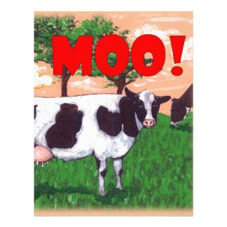 Defiant Cow Letterhead