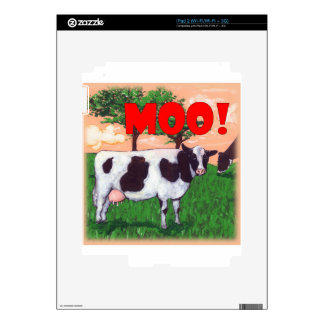 Defiant Cow Skin For iPad 2
