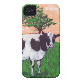 Defiant Dairy Cow iPhone 4 Case-Mate Case
