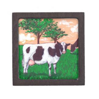 Defiant Dairy Cow Keepsake Box